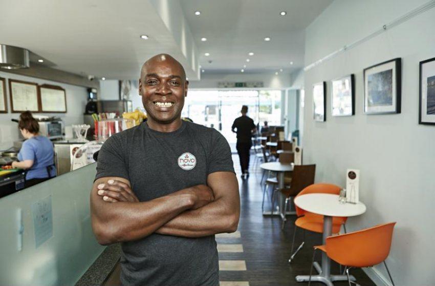 Business Enterprise Fund Start Up Loans Client Neville Morris of Novo Coffee House Dewsbury