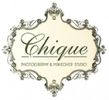 Chique photography logo
